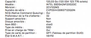 propriété SSD - TRIM